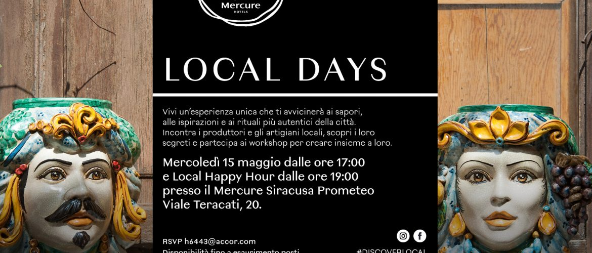 Discover Local, Esperienze da veri local con Mercure Hotels